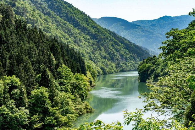 Gokayama Sho River