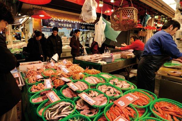 近江町市場 写真提供:石川県観光連盟