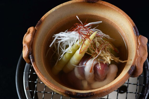 【Counter Cuisine】 Cuisine in mouthfulls for the senses ~ Kaiseki: Kuriya Hachimi ~