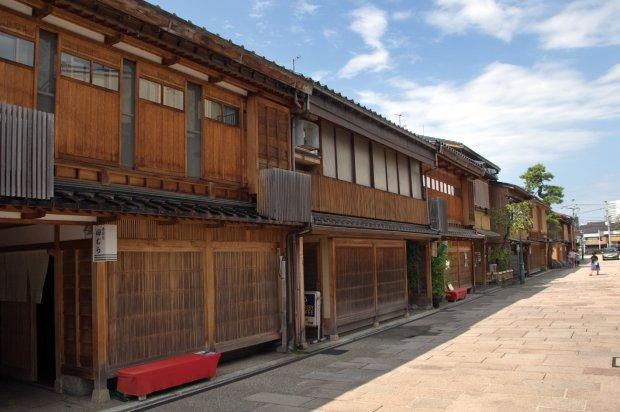 にし茶屋街 写真提供:石川県観光連盟