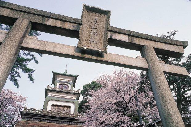 尾山神社 写真提供:石川県観光連盟