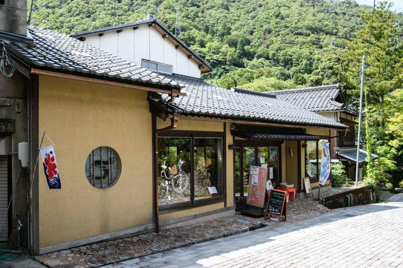 無限庵のカフェの建物