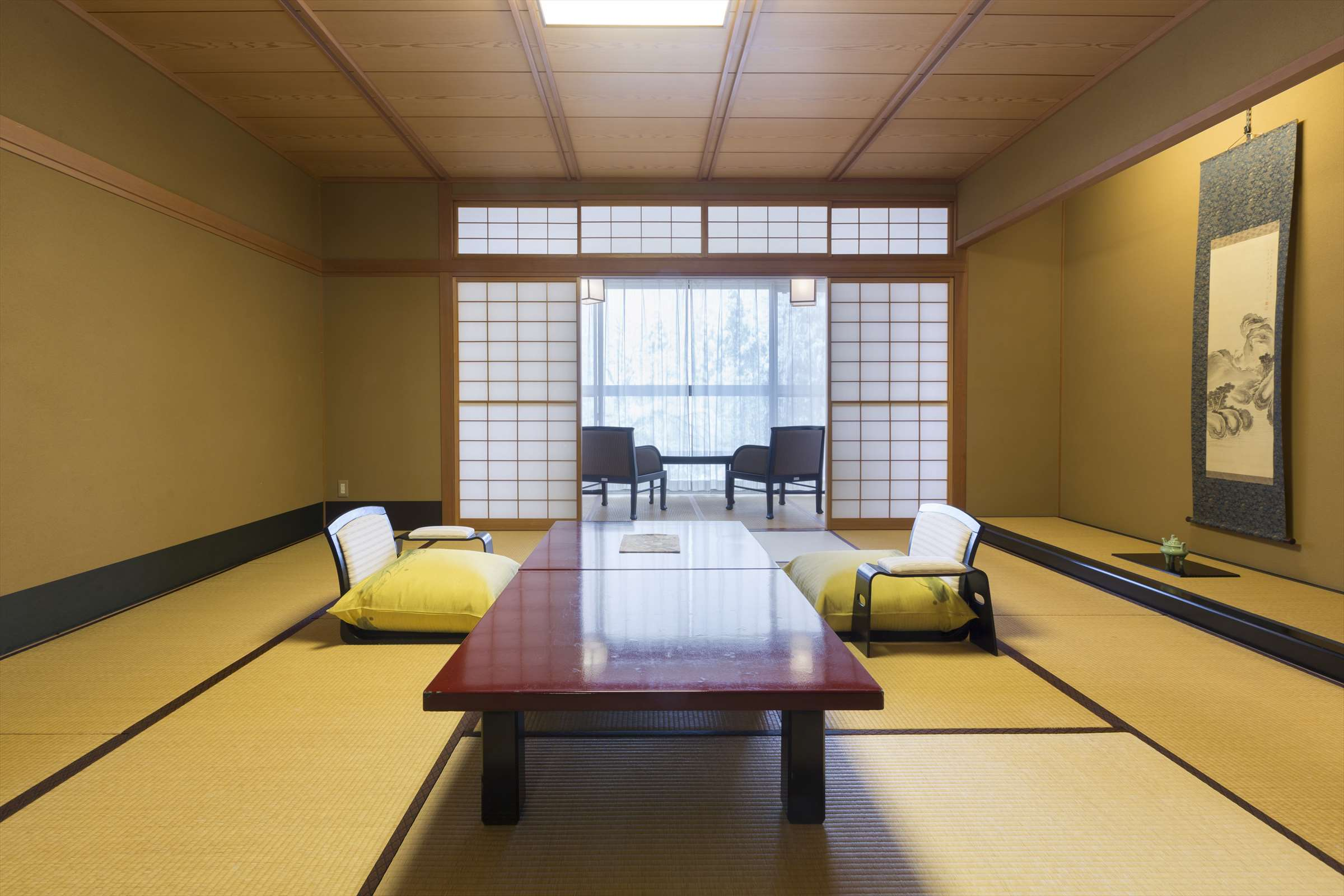 Japanese Style Room with Sofa Corner
